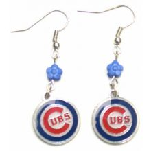 MLB Chicago Cubs Sophie Dangle Earrings