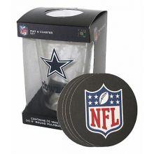 Dallas Cowboys Pint and Coaster Set