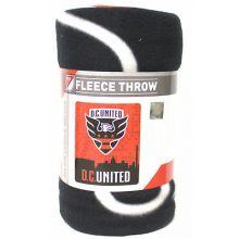 D. C. United Light Weight Fleece Blanket