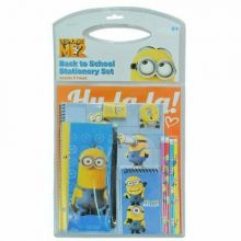 Despicable Me Value Pack 11 Piece Back To School Stationary Set