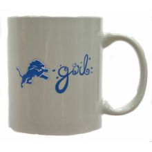 Detroit Lions Team Color Lions Girl 12oz Mug