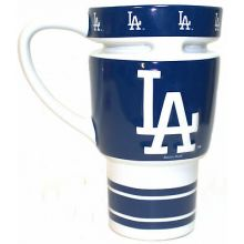 Los Angeles Dodgers Sculpted Travel Mug with Lid