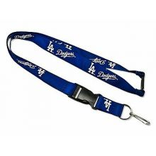 MLB Los Angeles Dodgers Team Color Breakaway Lanyard Key Chain