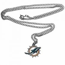 Miami Dolphins Logo Chain Necklace
