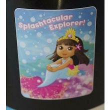"Nickelodeon Dora The Explorer ""Splashtacular Explorer!"" Throw Blanket 40"" X 50"""