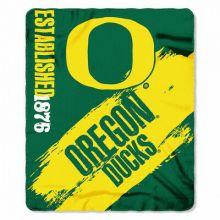 Oregon Ducks  Established Fleece Throw Blanket
