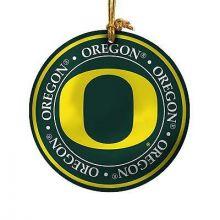 Oregon Ducks Ceramic Mini Plate Ornament