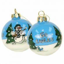 Philadelphia Eagles Hand Painted Ball Ornament