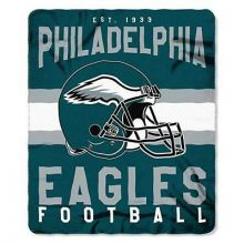 "Philadelphia Eagles 50"" x 60"" Singular Fleece Throw Blanket"