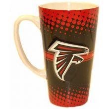 Atlanta Falcons 16-ounce Sculpted Latte Mug