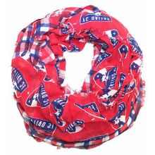 FC Dallas Logo Plaid Infinity Scarf