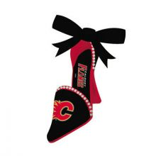Calgary Flames Team High Heel Shoe Ornament