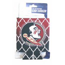 Florida State Seminoles Team Color Beaded Can Koozie Cooler