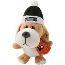 Philadelphia Flyers 4 inch Plush Dog Ornament