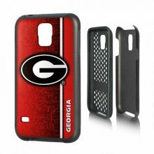 Georgia Bulldogs Rugged Series Phone Case for Galaxy S5, 6 x 3""