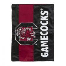 South Carolina Gamecocks Embellish Garden Flag