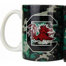 South Carolina Gamecocks Camouflage 11oz Coffee Mug
