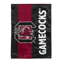 South Carolina Gamecocks Vertical Linen Fan Rules Garden Flag