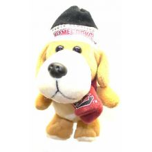 South Carolina Gamecocks 4 inch Plush Dog Ornament