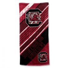 "South Carolina Gamecocks 28"" x 58"" Striped Logo  Beach Towel"