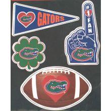 Florida Gators 4 Piece Magnet Set