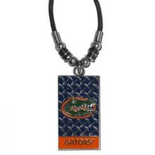 Florida Gators Diamond Plate Rope Necklace, 20-Inch