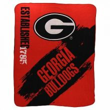 Georgia Bulldogs Established Fleece Throw Blanket