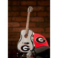 Georgia Bulldogs 1:4 Scale Mini Guitar