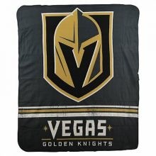 NHL Vegas Golden Knights Logo Fleece Throw Blanket