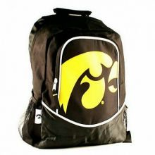 NCAA Iowa Hawkeyes Hype Logo Backpack