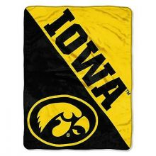 Iowa Hawkeyes Super Plush Fleece Throw