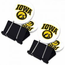 Iowa Hawkeyes  2 Pack Multi Purpose Utility Clips