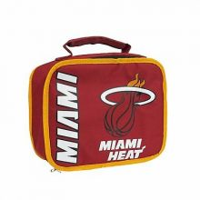 NBA Miami Heat Sacked Insulated Lunch Cooler Bag