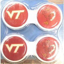 Virginia Tech Hokies Contact Lens Case 2 Pack