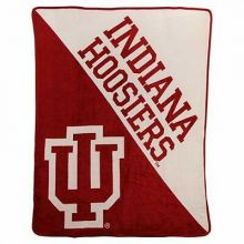 Indiana Hoosiers Super Plush Fleece Throw
