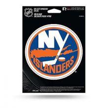 """New York Islanders 5.75"""" X 7.75"""" Die-Cut Window Decal"""