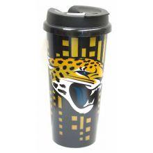 Jacksonville Jaguars 16-ounce Insulated Travel Mug
