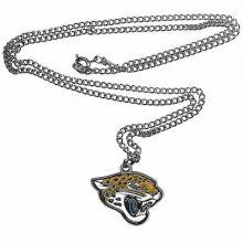 Jacksonville Jaguars Logo Chain Necklace