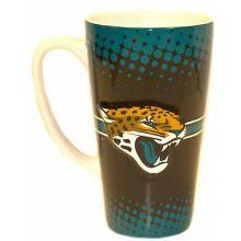 Jacksonville Jaguars 16-ounce Sculpted Latte Mug