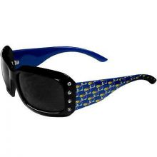 Kansas Jayhawkis  Womens Bling Team Logo Sunglasses