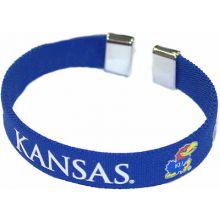 Kansas Jayhawks Ribbon Band Bracelet