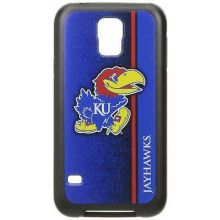 Kansas Jayhawks Rugged Series Phone Case for Galaxy S5, 6 x 3""