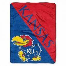 Kansas Jayhawks Super Plush Fleece Throw