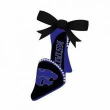 Kansas State Wildcats High Heeled Shoe Ornament