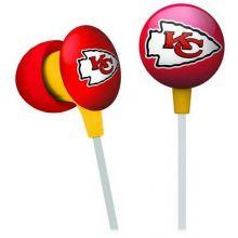 Kansas City Chiefs Ihip Earbuds Headphones