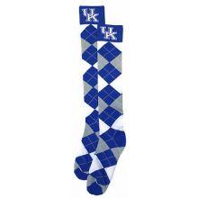 Kentucky Wildcats Argyle Dress Socks
