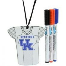 Kentucky Wildcats Personalizable Jersey Ornament with Team Color Markers