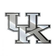 Kentucky Wildcats  Real Chrome Metal Auto Emblem