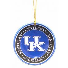 Kentucky Wildcats Ceramic Mini Plate Ornament