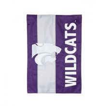 Kansas State Wildcats Embellish Garden Flag
